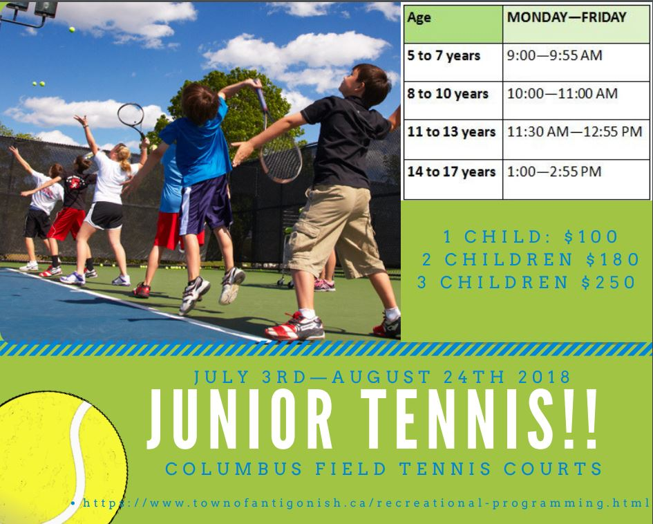 Junior tennis 2018