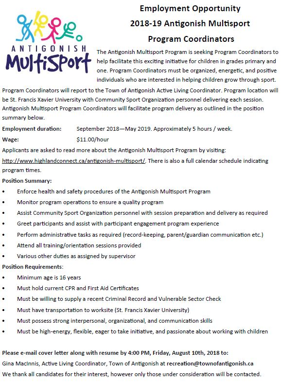 Multisport job add