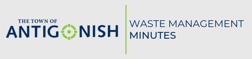 Waste management minutes.
